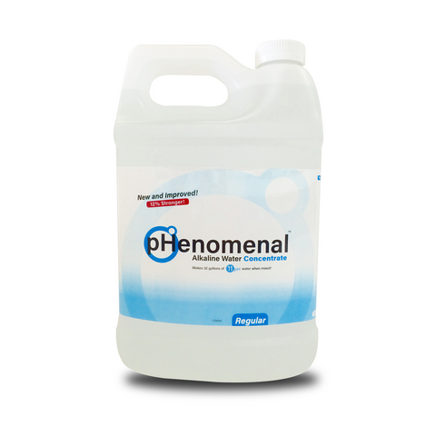 pHenomenal Water Regular Tasteless One Gallon Concentrate (Without Pump) - Makes 32 Gallons