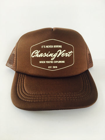 Trail Trucker - Brown