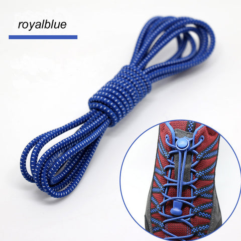 Lock lace in 23 colours, great for out on the trail, no more undone shoelaces..
