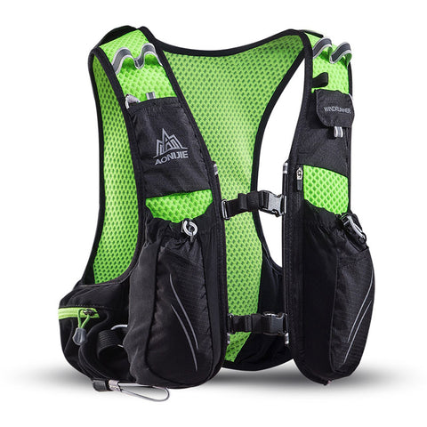 AONIJIE 10L Trail Running Hydration Backpack with 2 FREE 500ml Soft Bottles
