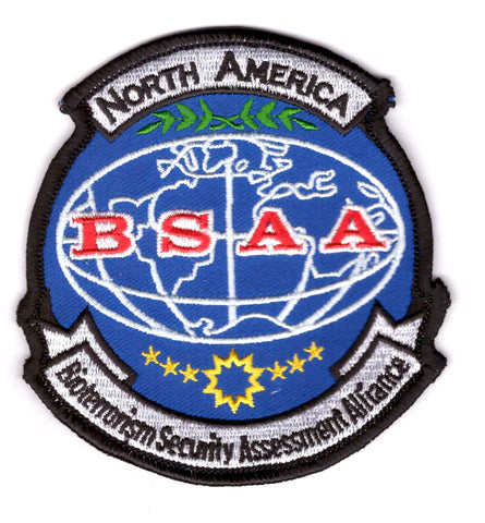 BSAA North America Resident Evil Costume Cosplay Shoulder Patch - Titan One
