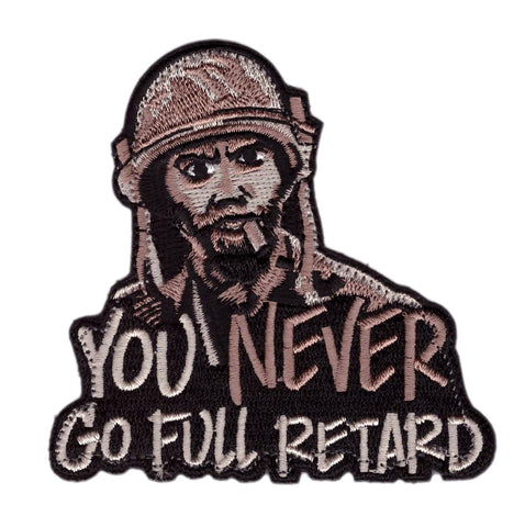 You Never Go Full Tropic Thunder Morale Funny Tactical Patch - Titan One