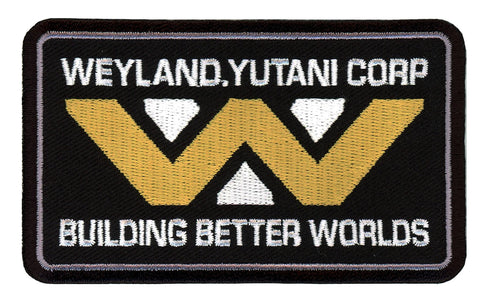 Building Better Worlds Weyland Yutani Alien Movie Crew Cap Shirt Patch - Titan One
