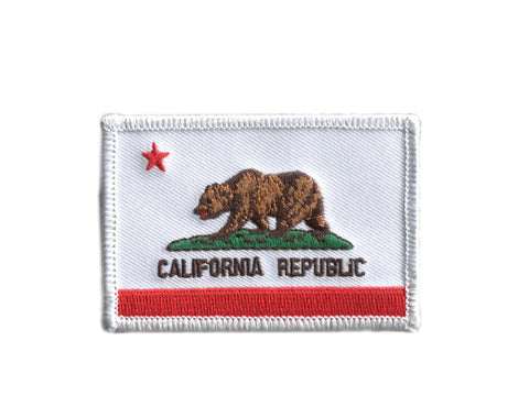 California State Flag Tactical Operator Army Patch