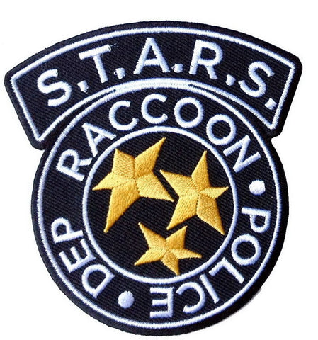 Black Resident Evil Raccoon City STARS Police Cosplay Patch - Titan One