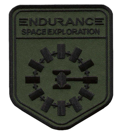Iron on Camo Green OD Endurance Space Exploration Interstellar Jacket Backpack Limited Release Patch - Titan One