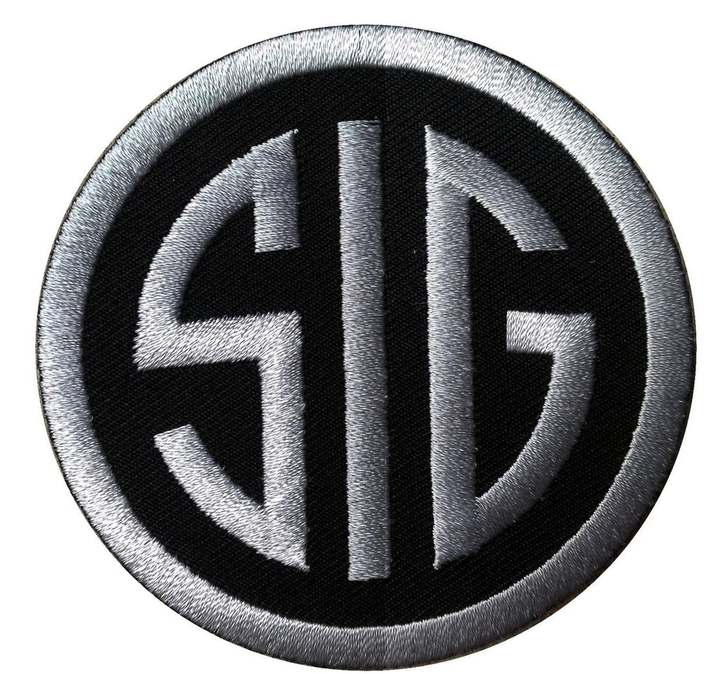 Velcro Sig Sauer Firearms Tactical Morale Gear Cap Military Patch