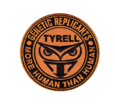 Blade Tyrell Runner Owl Replicant More Human Iron on Patch - Titan One