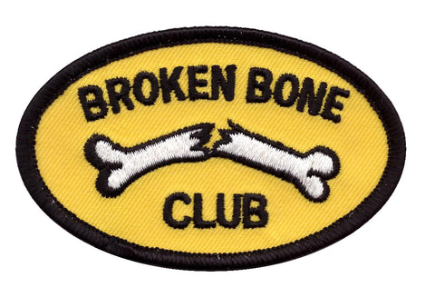Broken Bone Club Biker Motorcycle Jacket Patch - Titan One