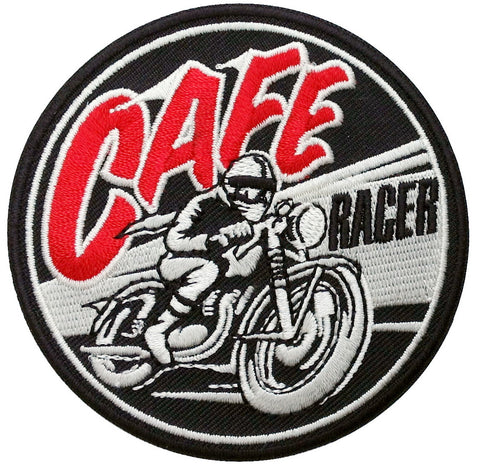 Cafe Racer Old School Motorcyle Biker Jacket Vest Patch - Titan One