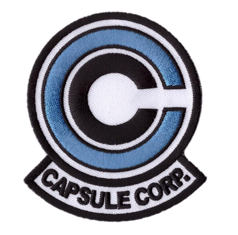 Blue Version Anime Dragon Ball Z Capsule Corp. Cosplay Jacket Patch - Titan One
