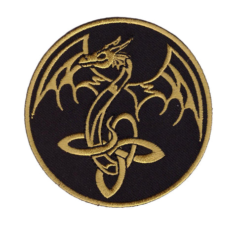 Celtic Dragon Viking Theme Patch
