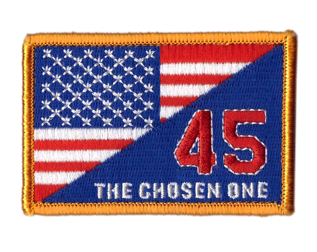 The Chosen One Trump US Flag Tactical Operator Patch