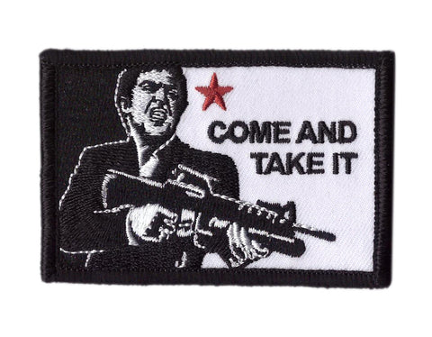 Come And Take it Scarface Tactical Patch