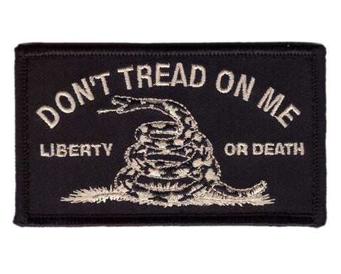 Liberty or Death Don't Tread On Me Tactical Patch