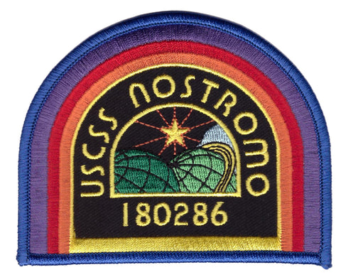 Alien Movie Black USCSS Nostromo Cosplay Crew Costume Patch - Titan One