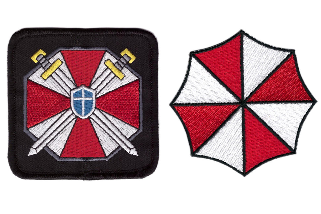 Resident Evil 3 Inch Iron On Patch Umbrella