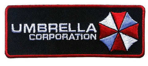 Black Umbrella Corporation Resident Evil Security Cosplay Patch - Titan One
