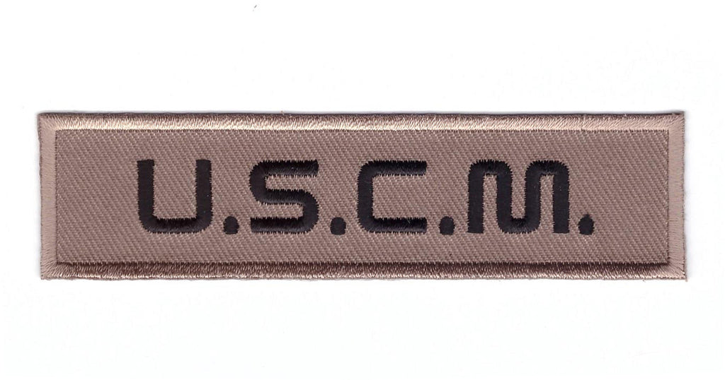 USCM Colonial Marines Uniform Name Tag Patch