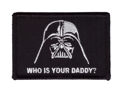 Who's Your Daddy Tactical Patch