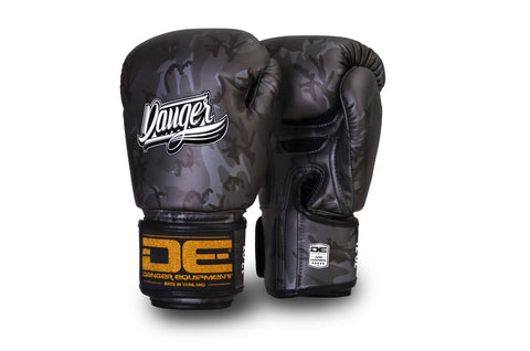 Boxing Gloves Danger DEFBG-003 Grey Army Edition