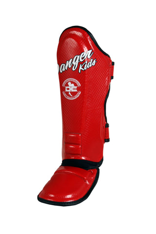 Shin Guards DEKSG-034 Red