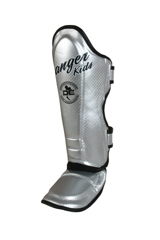 Shin Guards DEKSG-034 Silver