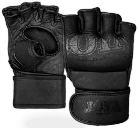 MMA Gloves Joya GRIP FF0075 Faded Black Leather