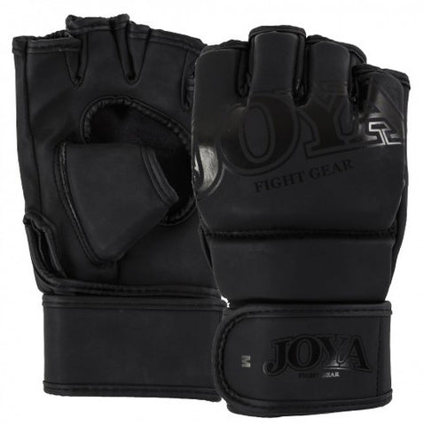 MMA Gloves Joya Faded Black PU MM01600
