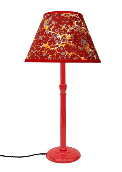 Tall Poppy Red Glossy Lamp