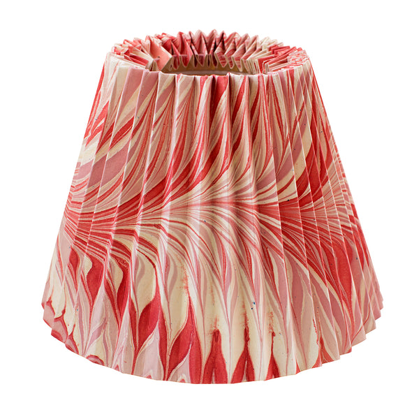 Pleated Pink and Red Star Anise