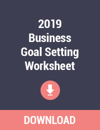 2019 Business Goal Setting Worksheet Printable - Free PDF Download