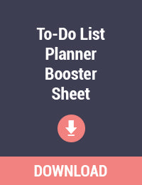 To-Do List Planner Booster Sheet Printable - Free PDF Download