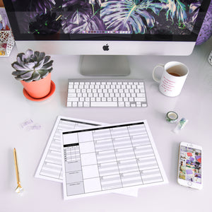 The Content Planner Printable - August/September 2019 - The Content Planner Blog & Social Media Marketing Tool