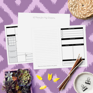 The Content Planner Printable - October/November 2019 - The Content Planner Blog & Social Media Marketing Tool