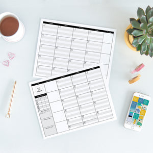 The Content Planner Printable - 2020 New Year's Edition - The Content Planner Blog & Social Media Marketing Tool