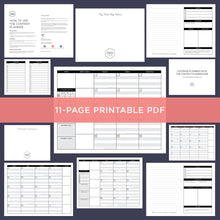 Load image into Gallery viewer, The Content Planner Printable - October/November 2019 - The Content Planner Blog & Social Media Marketing Tool