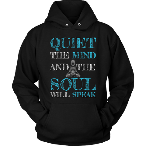 Quiet the Mind and the Soul Will Speak - Hoodie / Long Sleeve