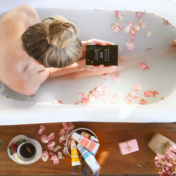 5 easy ways to practice self-care | Chill in the bath | Be Fraiche