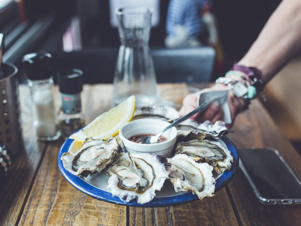Healthy food for great skin - oyster