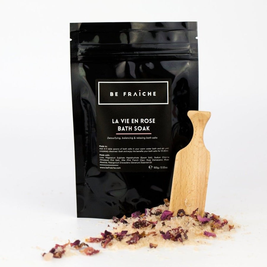 La Vie En Rose Bath Soak - Travel Size 100g