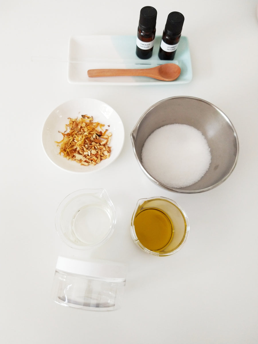 DIY Skincare Kit - Make My Own Body Scurbs