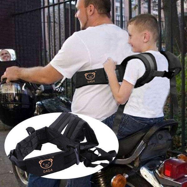 Kid's Motorcycle Adjustable Safety Belt