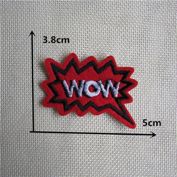 Clothing Accessory Embroidered Patches