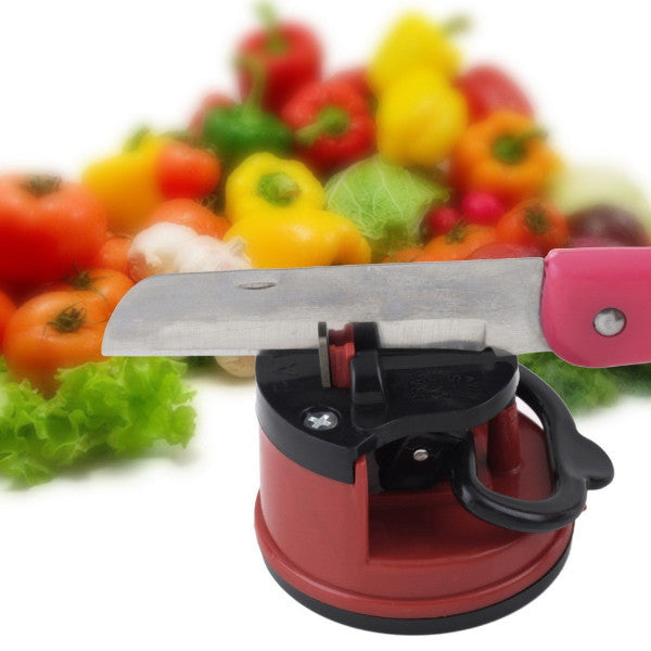 Red Knife Sharpener