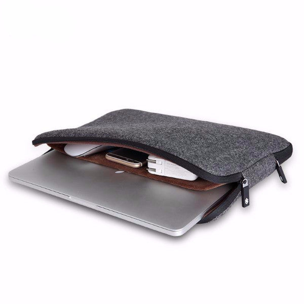 Woolen Waterproof Laptop Sleeve