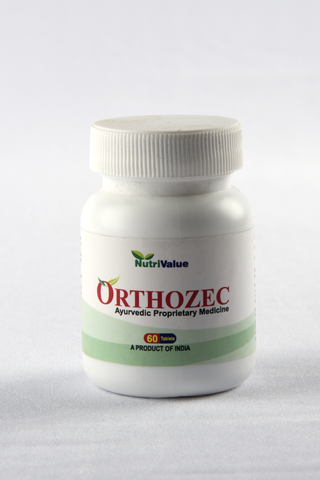 Nutrivalue Orthozec- Herbal Remedy for Arthritis, Rheumatism and Gout,60 Tablets