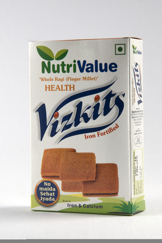 Nutrivalue Iron Fortified Nutritious Vizkits,150gm