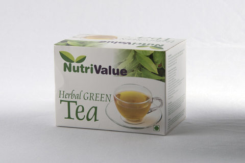 Nutrivalue 20 Sachets of Herbal Green Tea