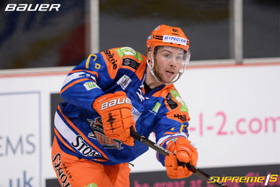 BEN O'CONNOR JOINS BAUER HOCKEY UK ROSTER OF ATHLETES